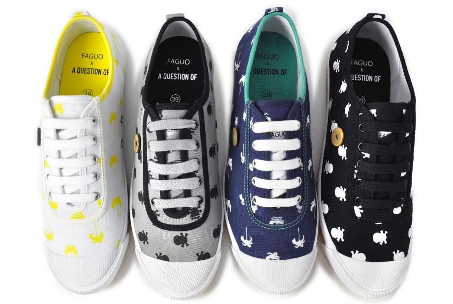 Faguo x A Question Of | Sneaker Kollabo | Foto: Faguo Shoes / A Question Of | GROSSARTIG