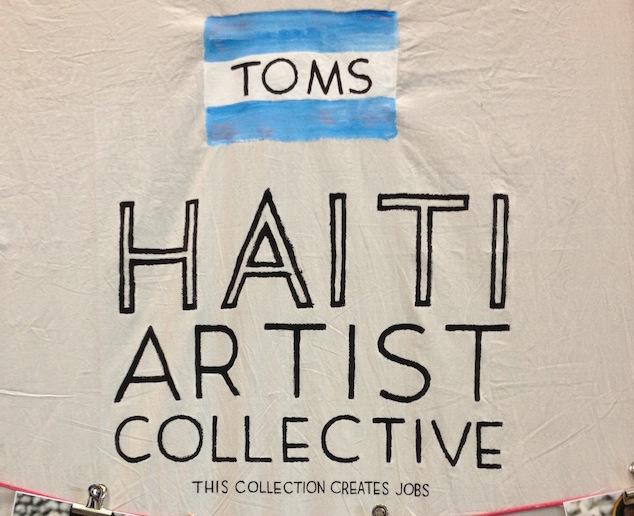 TOMS | Haiti Artist Collective | Foto: TOMS | GROSSARTIG