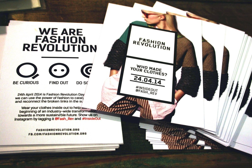 Fashion Revolution Day 2014 | #Insideout | GROSSARTIG