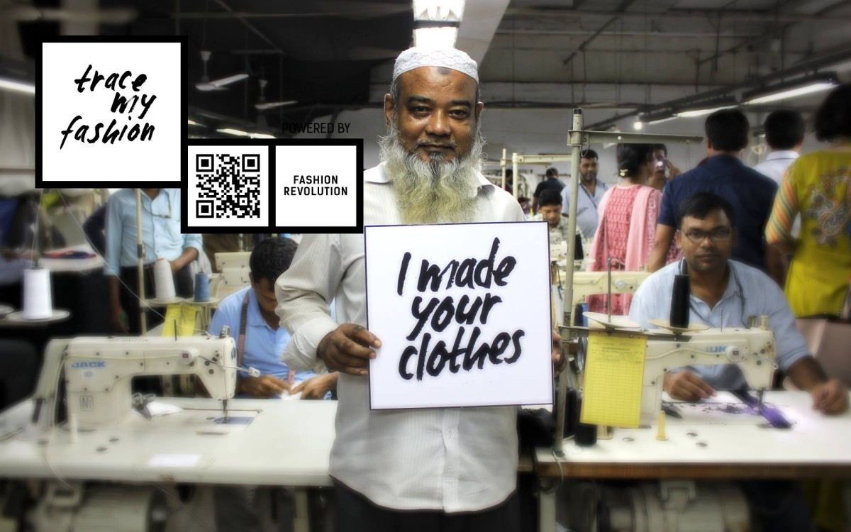 Fashion Revolution Day | Interview with Anna Troupe | I Made Your Clothes | Foto: Fashion Revolution Bangladesh | GROSSARTIG