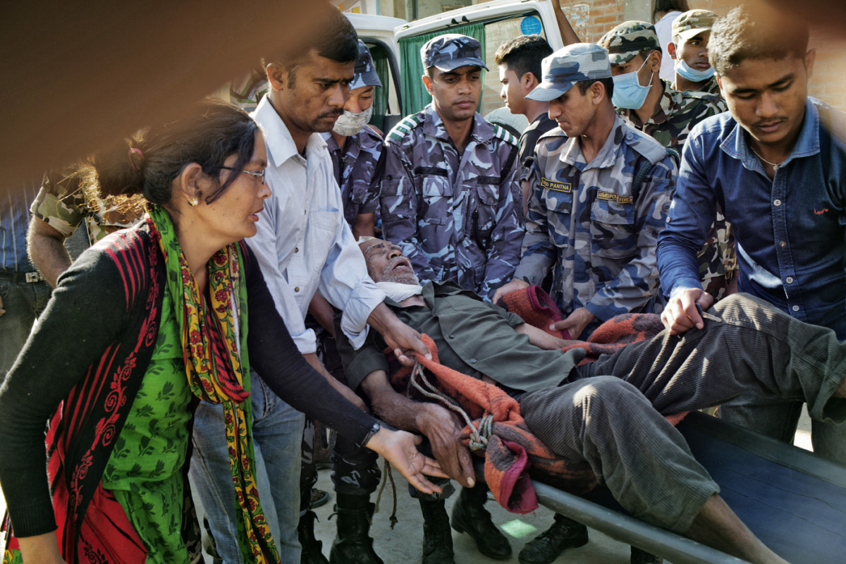 #NepalEarthquake | April 2015 | Gorkha District | (c) Nabin Baral | GROSSARTIG