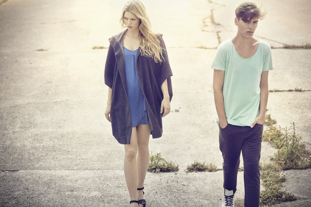 SIMÓN ESE | Fashionlabel | No Waste Design | München | Frühjahr/Sommer 2015 Kollektion | Foto: Daniel Sommer | GROSSARTIG