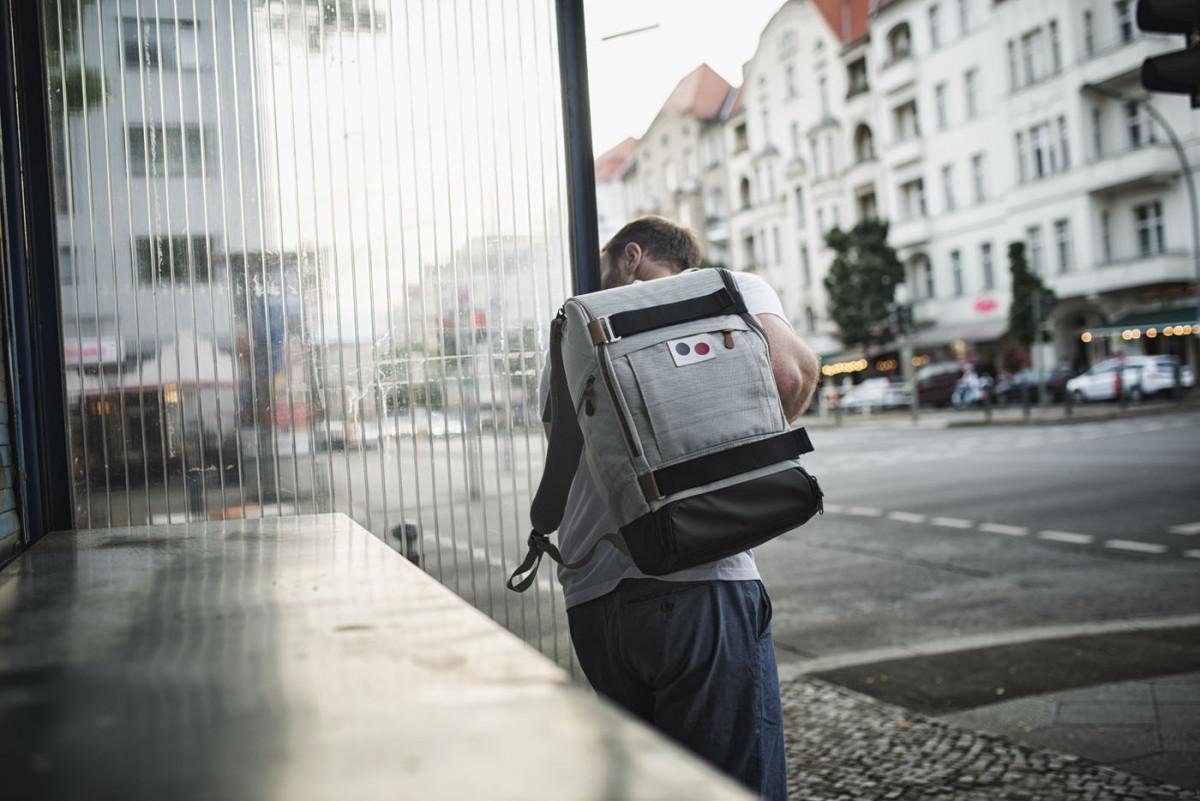 Mein neuer Wegbegleiter | Cubiq DLX | pinqponq | Recycled PET | Foto: René Zieger | GROSS∆RTIG