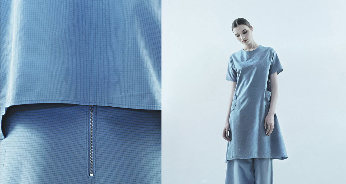 STILL garments | Elke Fiebig | Zero Waste Fashion | Pilotkollektion | Foto: Fredrik Altinell | GROSS∆RTIG