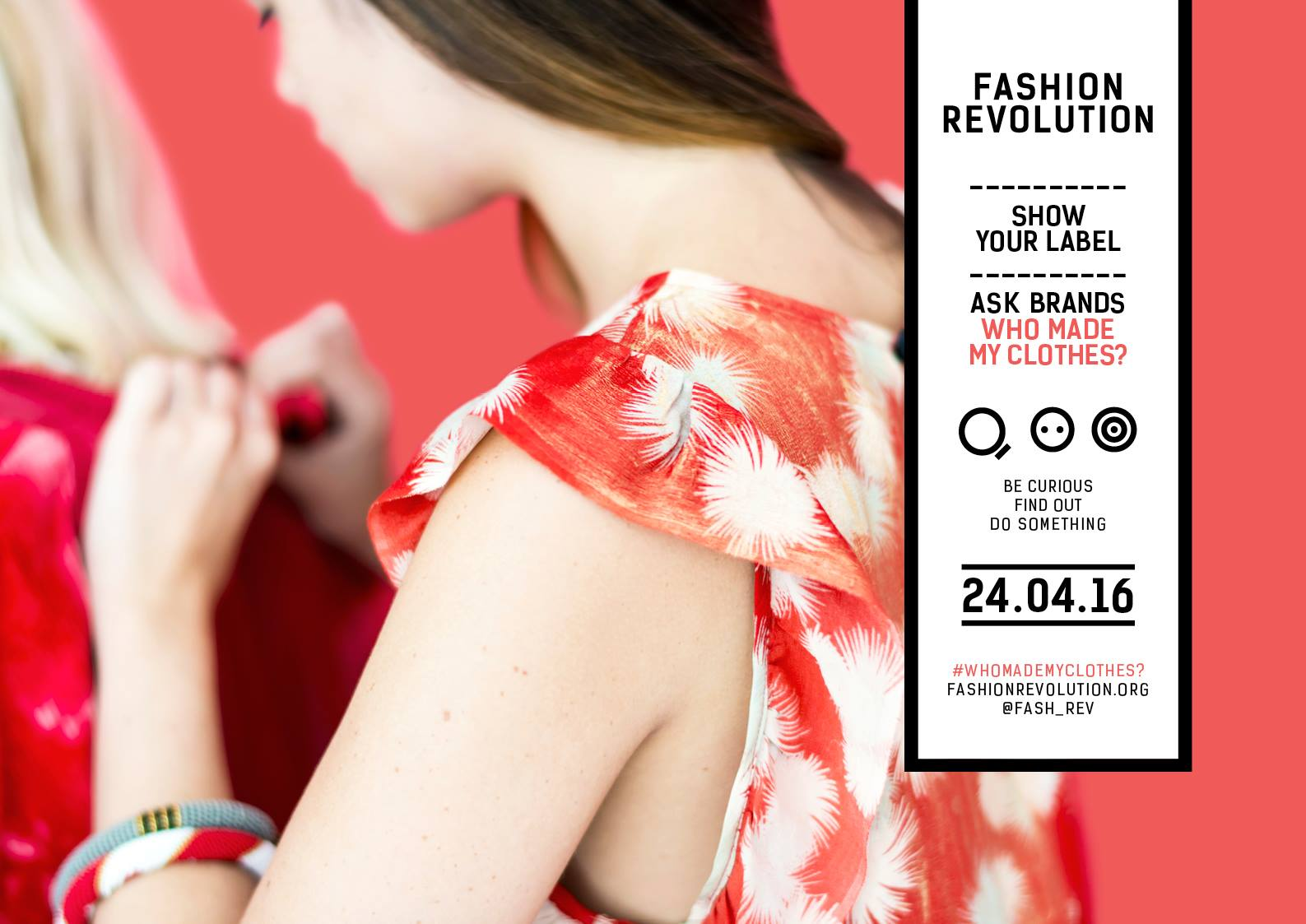 Fashion Revolution Day | Rana Plaza | Fast Fashion | Foto: #fashrev | GROSS∆RTIG