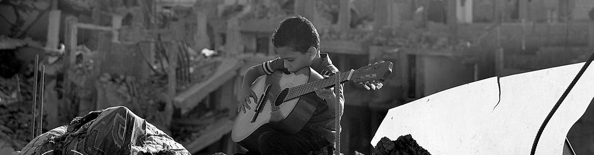 Bread&Water | Crowdfunding bei Startnext | Support for Edward Said National Conservatory of Music in Tel al-Hawa | Unterstützt eine Musikschule in Gaza | Foto: Bread&Water | GROSS∆RTIG