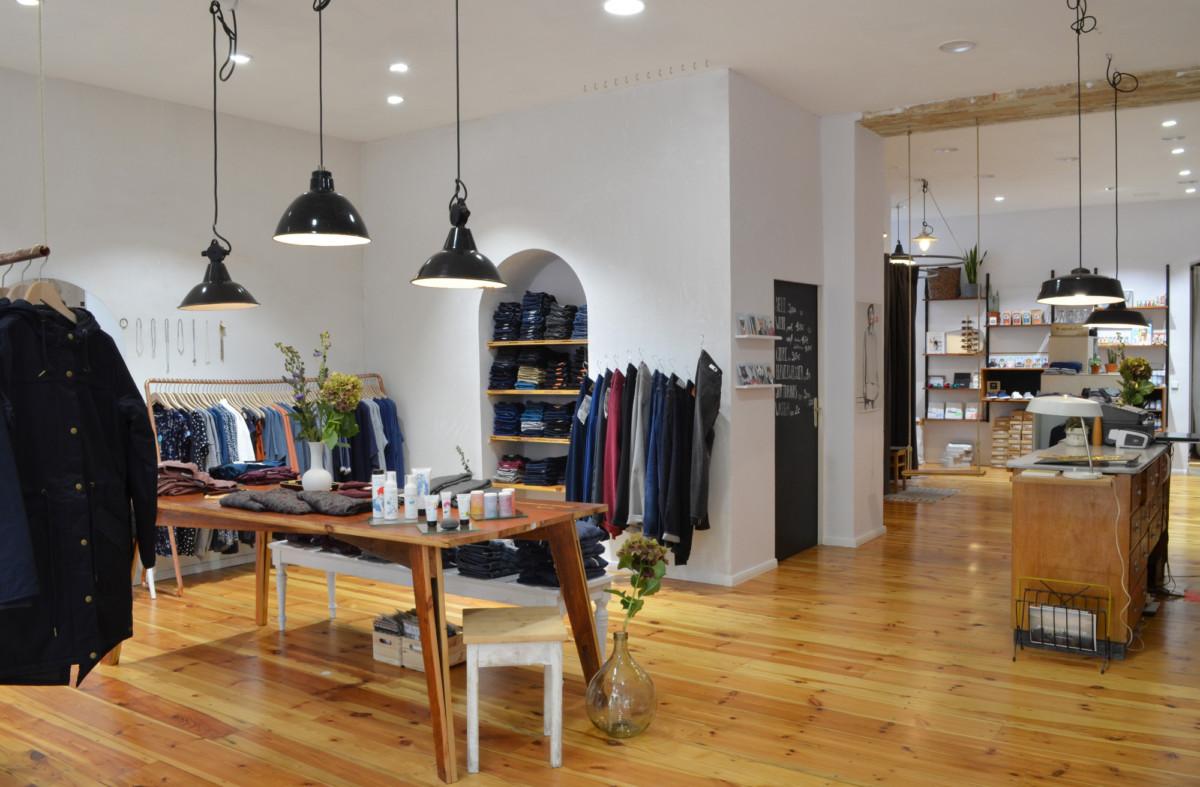 LOVECO | Eco Fashion Store | Sonntagstraße 29, Berlin-Friedrichshain | Foto: LOVECO / Christina Wille | GROSS∆RTIG