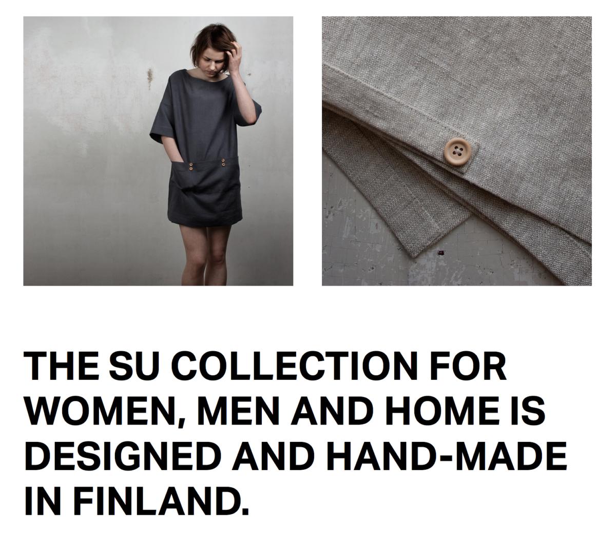 Sunnuntaipuoti   Susan Vatanen   Spezial über finnische Modelabels   Foto: Sunnuntaipuoti   GROSS∆RTIG