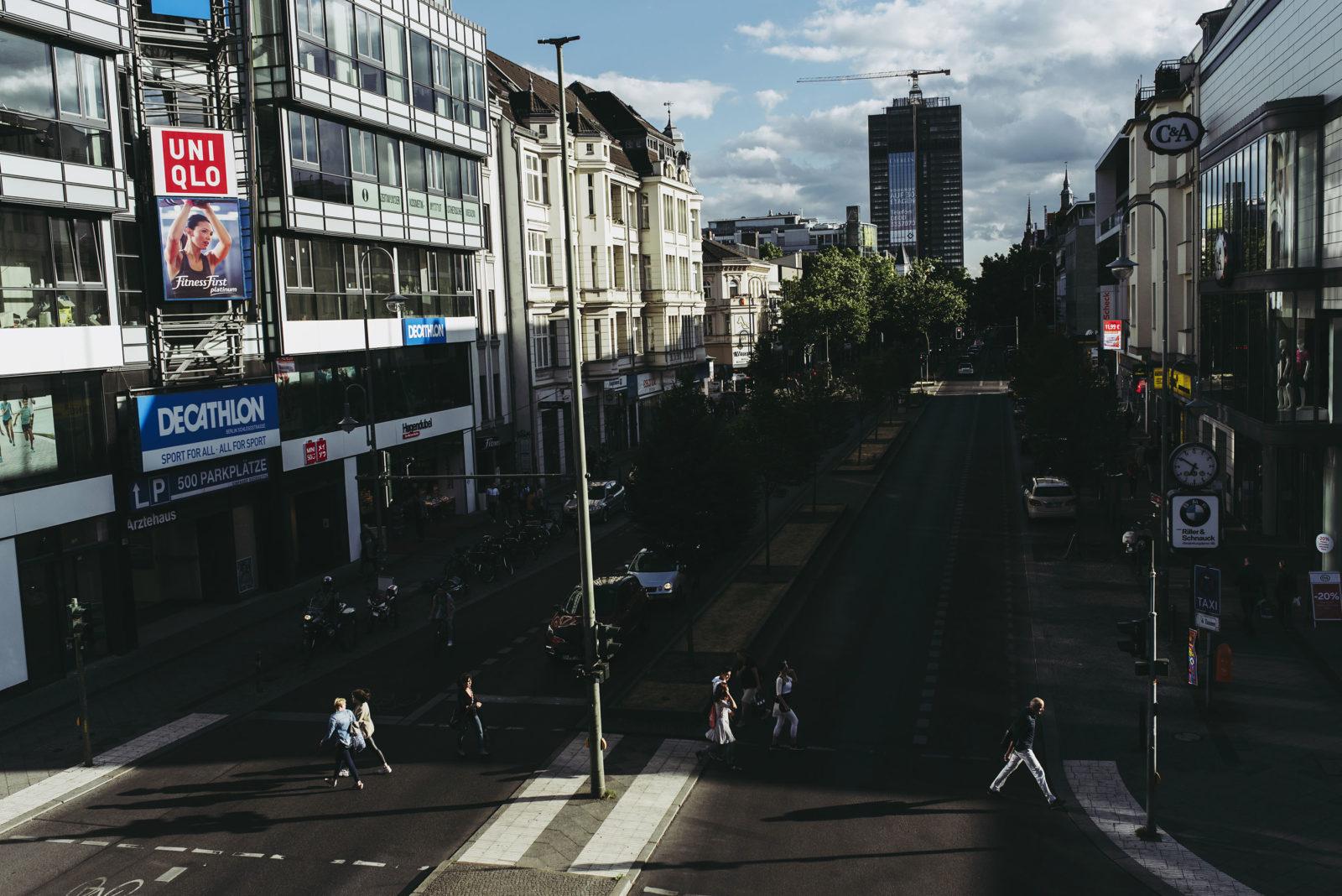 Zahn und Zieger unterwegs in Steglitz | Foto: René Zieger | GROSS∆RTIG