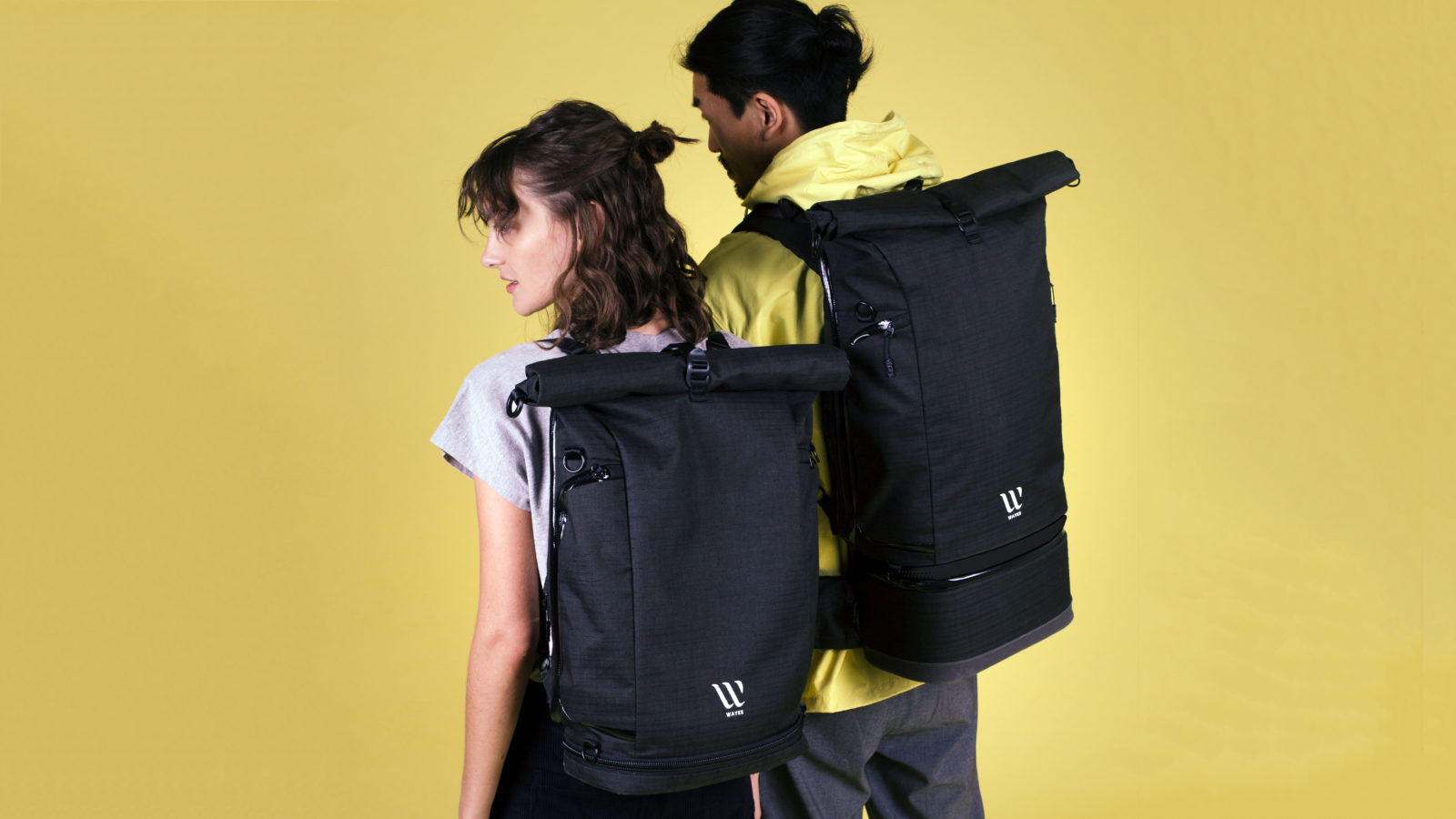The WAYKS ONE | Modulares Backpack | Fabian und Leonie Stein | Kickstarter 2018 | GROSS∆RTIG