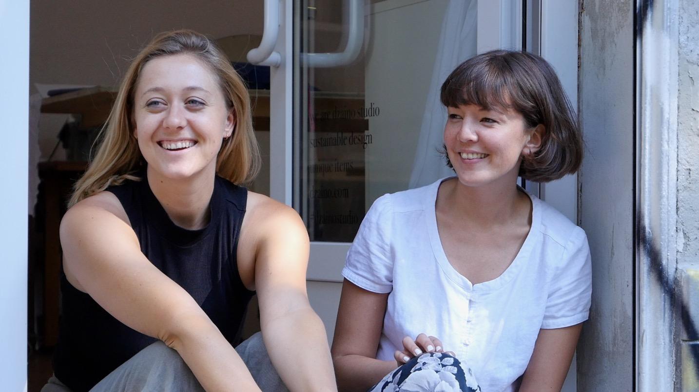 Julia Hermesmeyer und Hanna Sin Gebauer | Dzaino | Upcycling aus Berlin | Crowdfunding auf Startnext | GROSS∆RTIG