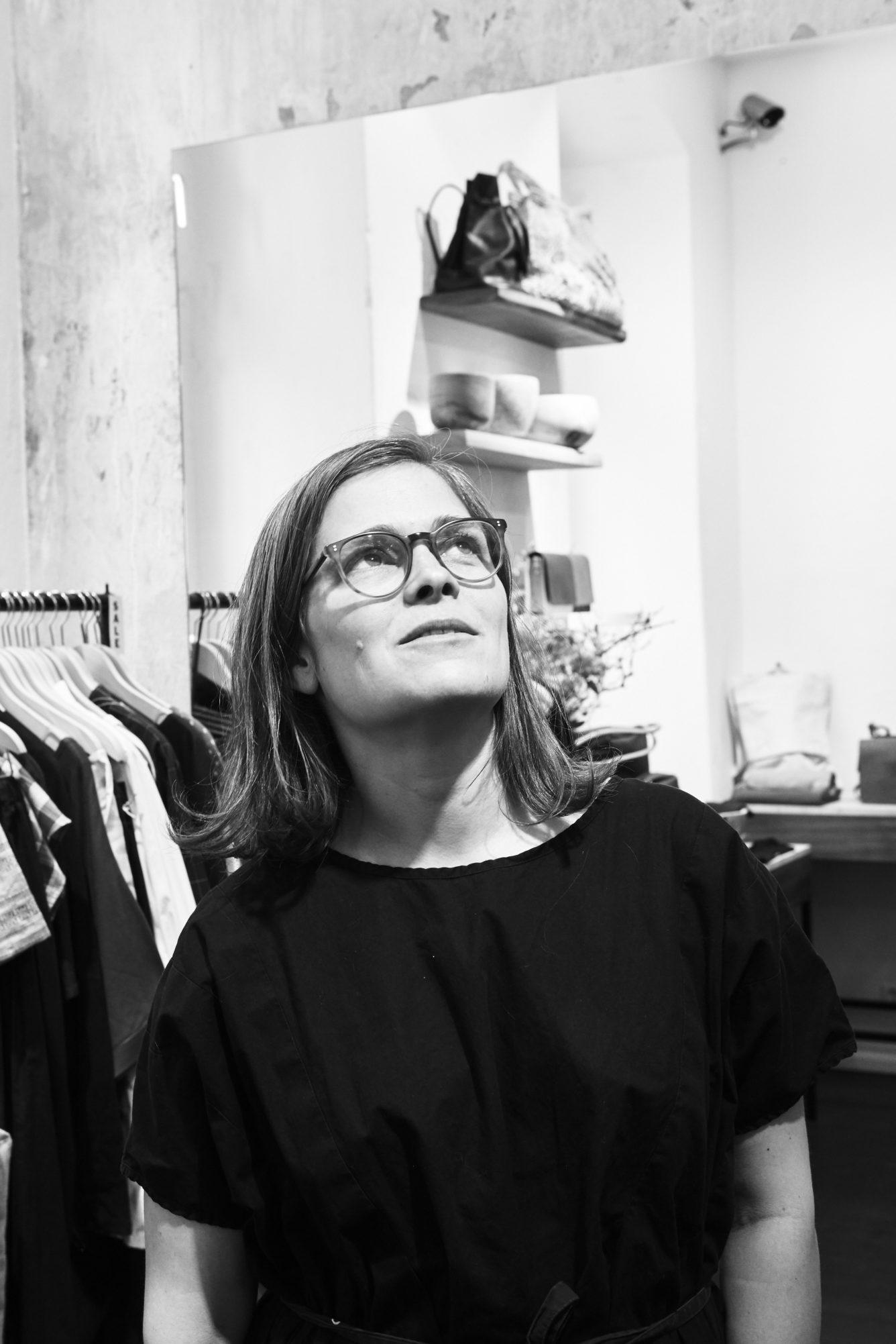 Sonja Lotz im Interview   MOEON auf GROSS∆RTIG   Foto: Magdalena Vidovic