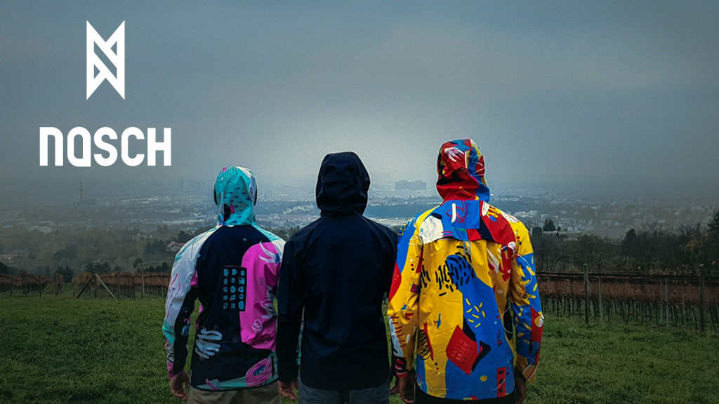 NASCH Sportswear | Crowdfunding auf Kickstarter | Sportbekleidung | Foto: NASCH Sportswear | GROSS∆RTIG