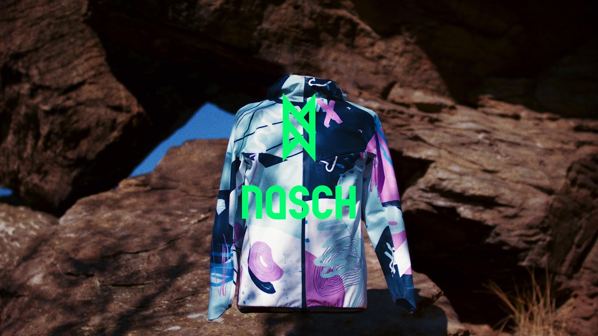 NASCH Sportswear | Nadine Schratzberger aus Wien | Crowdfunding auf Kickstarter | Funktionsjacke / Sportkleidung | GROSS∆RTIG