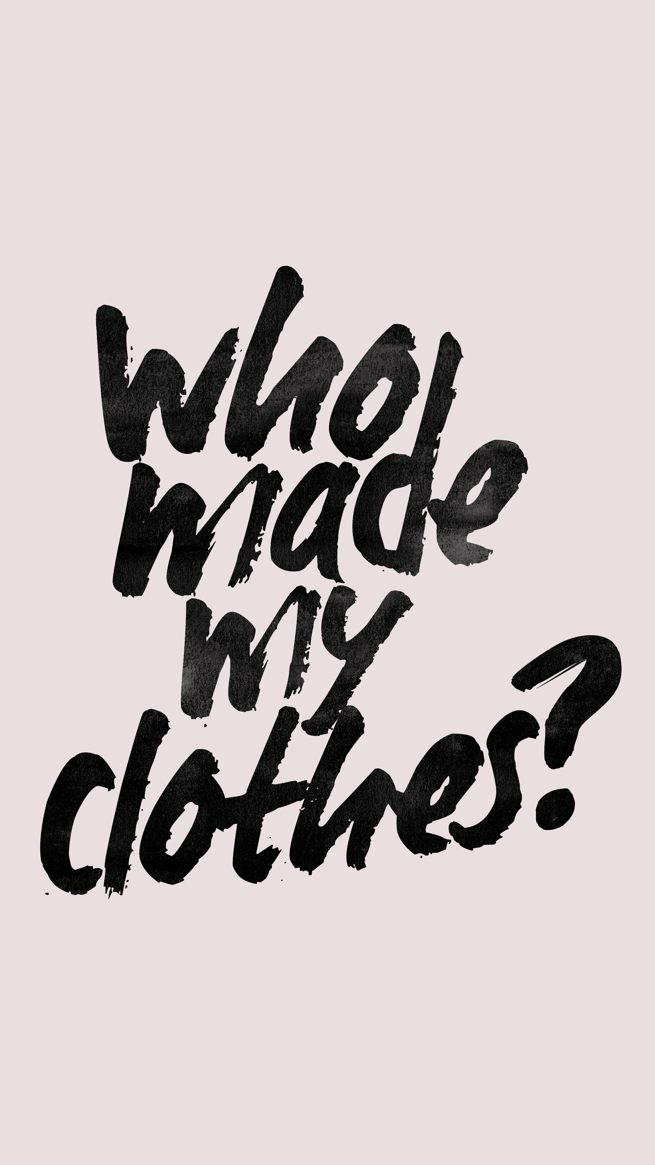 Editorial: Wie lange brauchen wir noch die Fashion Revolution Week? | #fashrev | GROSS∆RTIG