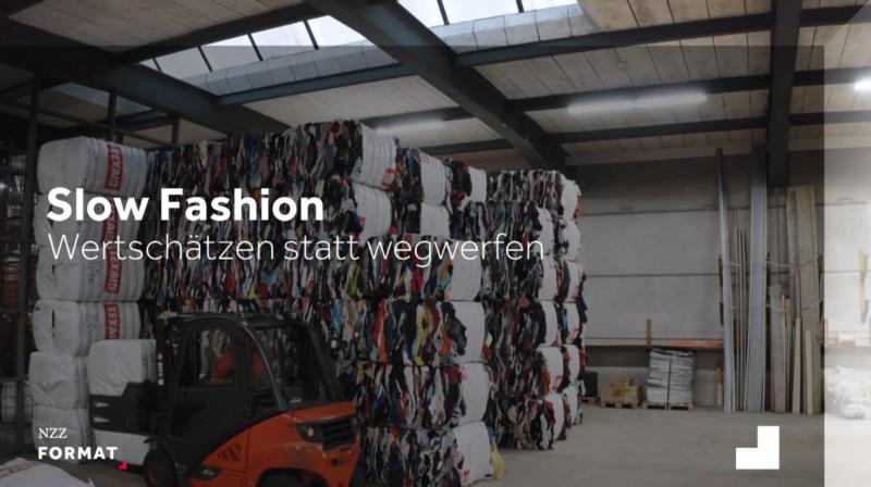 Slow Fashion: wertschätzen statt wegwerfen / NZZ Format